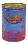 Hau-Hau Champion Chunks in jelly - для собак кусочки говядины в желе