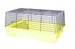 Клетка для грызунов 85x49x38 см, (Rodent cage cavia 4 colored funny)