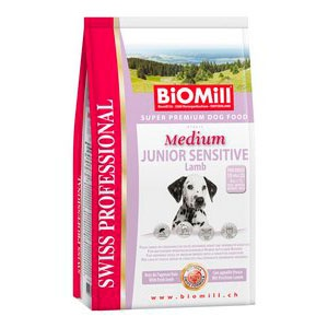 Swiss Professional  Medium Junior Sensitive Lamb